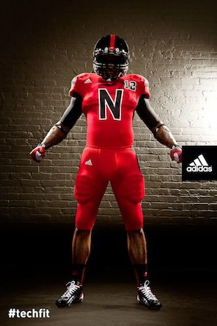 Huskers Adidas TECHFIT Uniforms