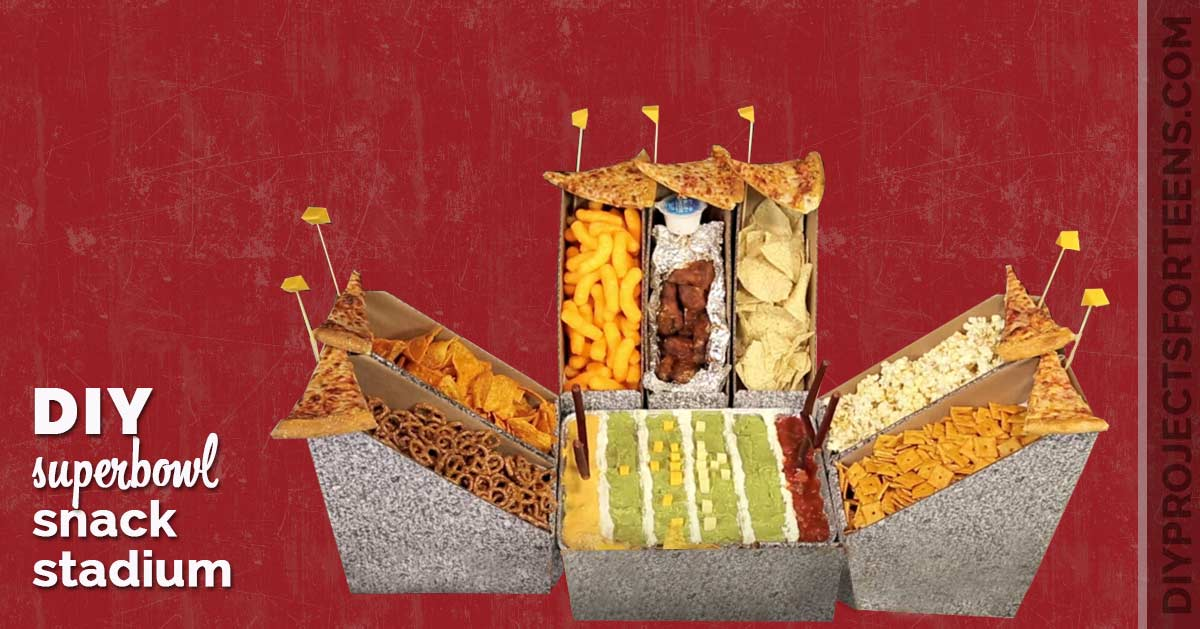 Super Bowl Snack Stadium Slideshow