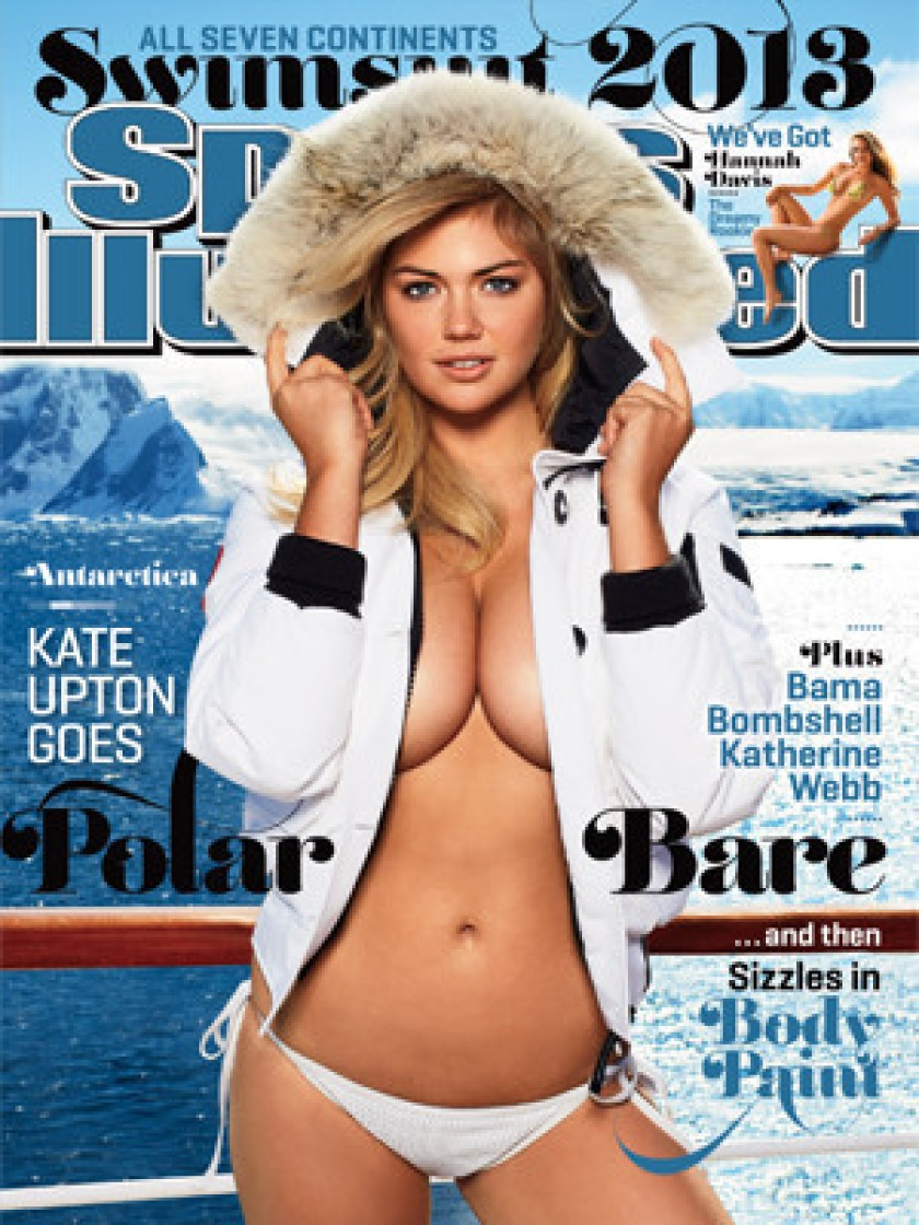Kate Upton heats up the polar cap