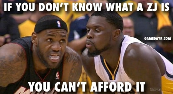 lance stephenson blows lebron meme