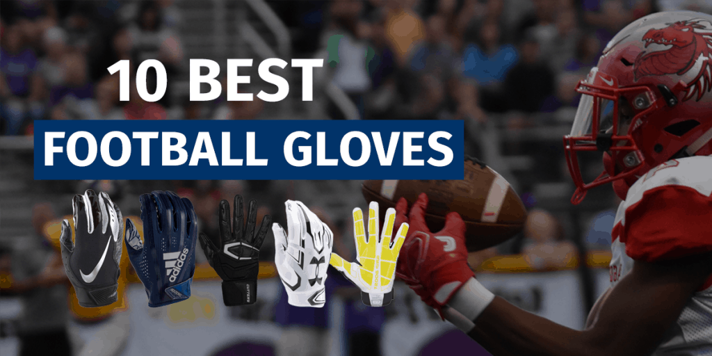 Football Gloves Kids Youth Football Gloves Football Gloves Men EliteTek RG-14 Football Gloves