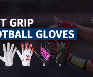 Best Grip Football Gloves Featured Image