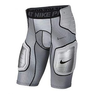 Nike Pro HyperStrong Hardplate White/Grey Men's Graphic Football Shorts