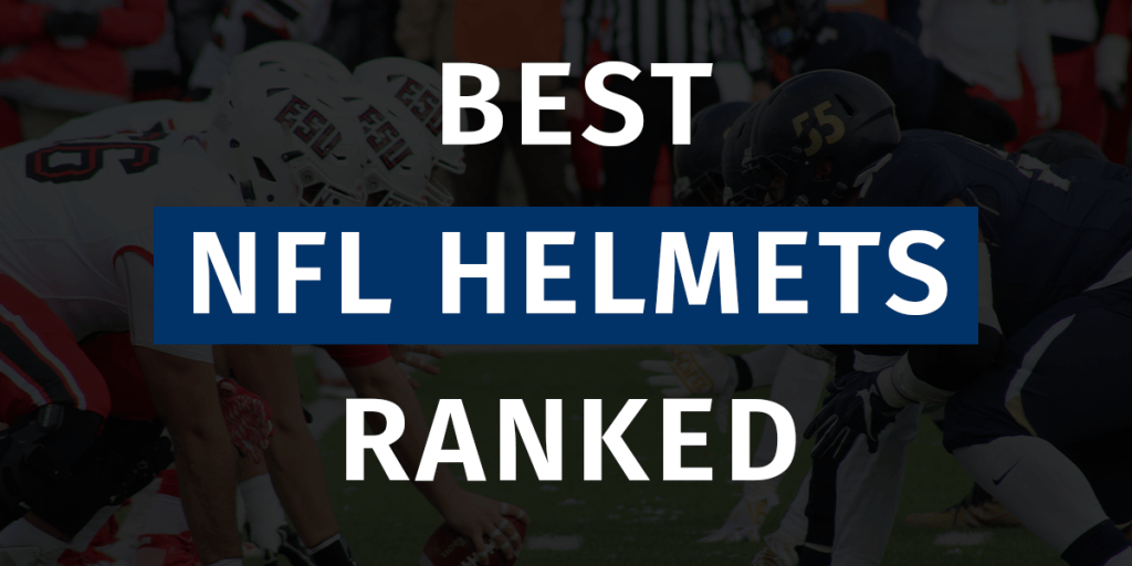 Best NFL Helmets Ranked Featured Image