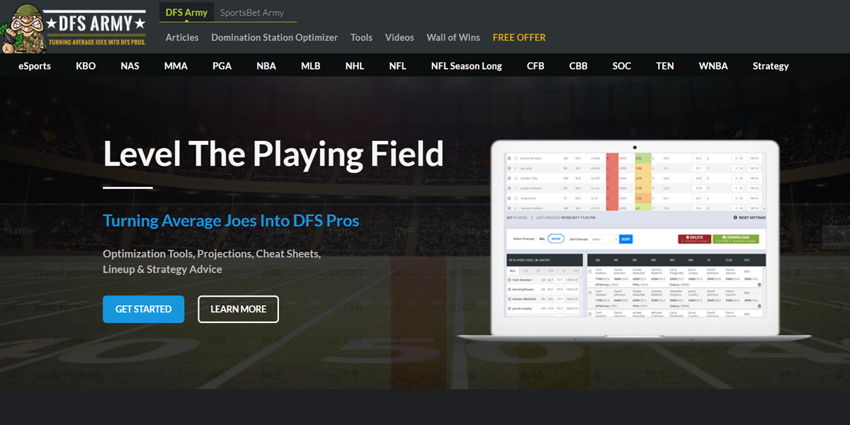 DFS Army Review Featured Image