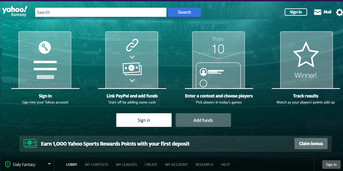 Yahoo Daily Fantasy Review Featured Image