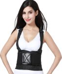 Back Brace with Suspenders for Women